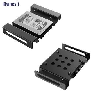 "【flymesit】2.5"" or 3.5"" to 5.25″ HDD Mounting Bracket Adapter Mounting Hard D"
