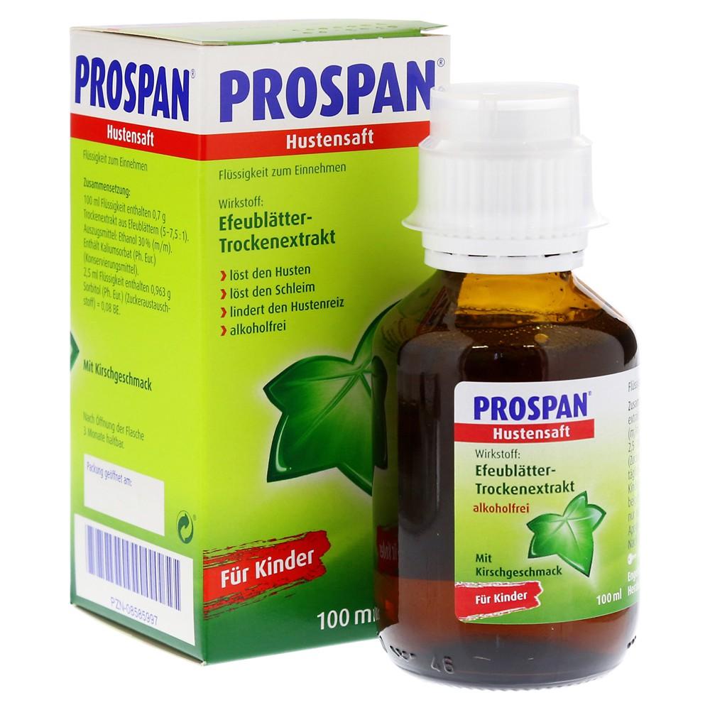 Siro Prospan 100ml chính hãng nội địa Đức - Siro ho cho bé dạng thảo dược