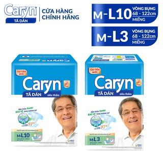 Tã Bỉm Dán Người Lớn Caryn Size ML – 3 Miếng/10 Miếng