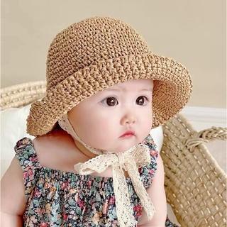 Mũ cói Ajuma cho bé từ 0-3 tuổi hàng Quảng Châu loại 1 mã M38041