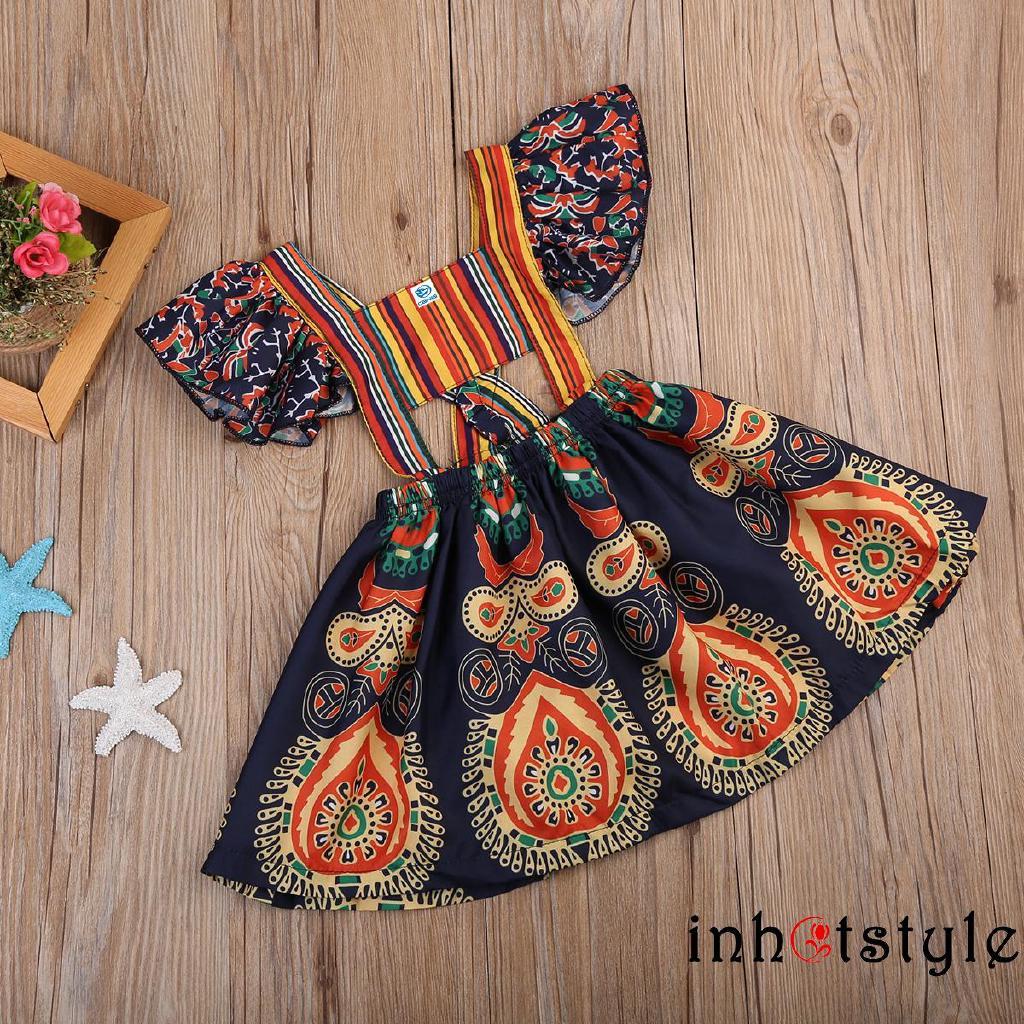 Đầm Tay Cánh Tiên Phong Cách Trung Hoa Xinh Xắn Dành Cho Bé Gái