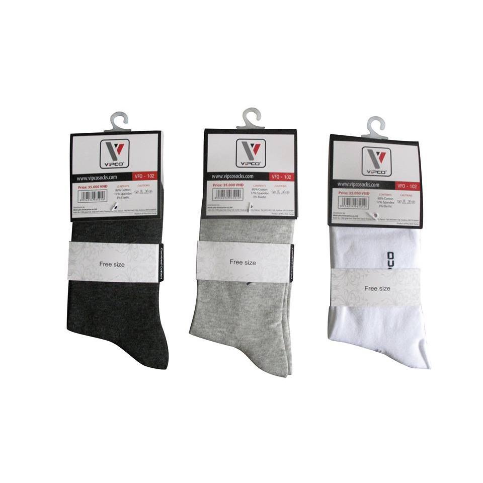 Combo 4 đôi tất công sở cao cấp Nam hiệu VIPCO hàng VNXK