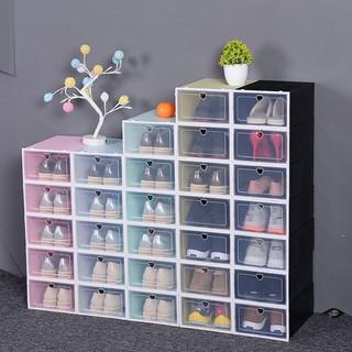 [SET COMBO NHIỀU HỘP] Hộp đựng giày, hộp nhựa đựng giày nắp nhựa cứng siêu chịu lực
