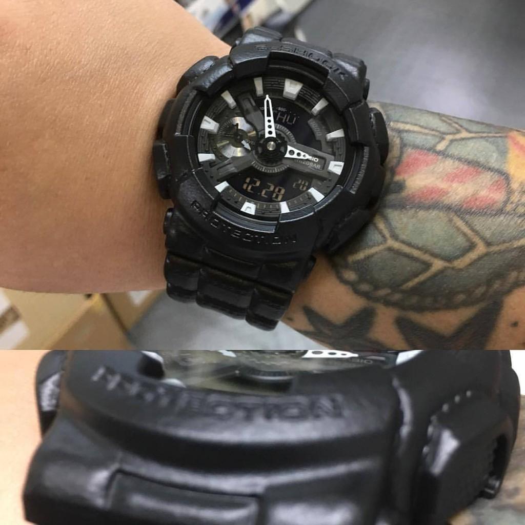 Đồng hồ nam Casio G Shock GA-110BT-1ADR Black - Dây Nhựa - Phiên Bản Đặc Biệt