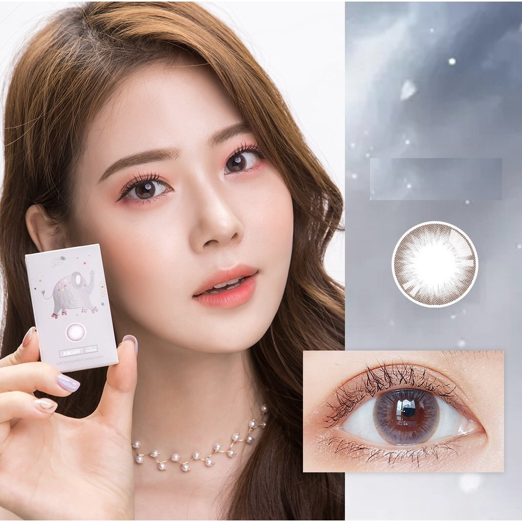 (20.JULY.26)XTHUI Series,Silicone Hydrogel,Sensitive Eye,LENSLOVE Brand ,14.2mm,Grade 0-900,Contact Lenses 6-months use(gray)