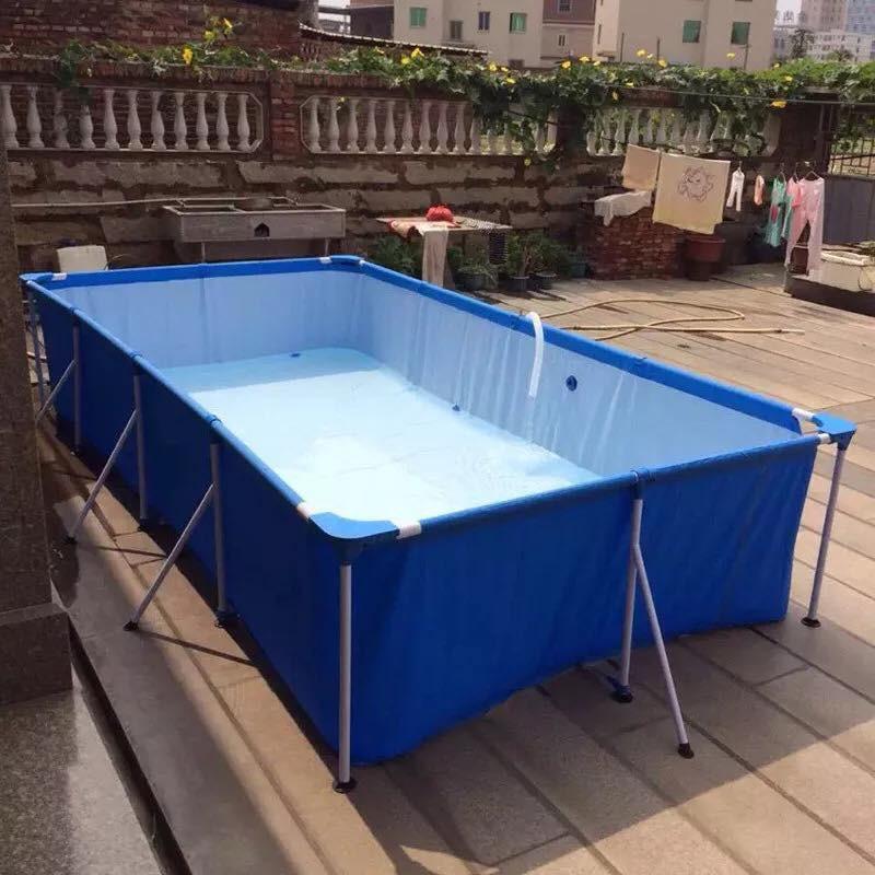 Bể Bơi Khung Kim Loại 4m x 2m x 81cm – Bestway 56405