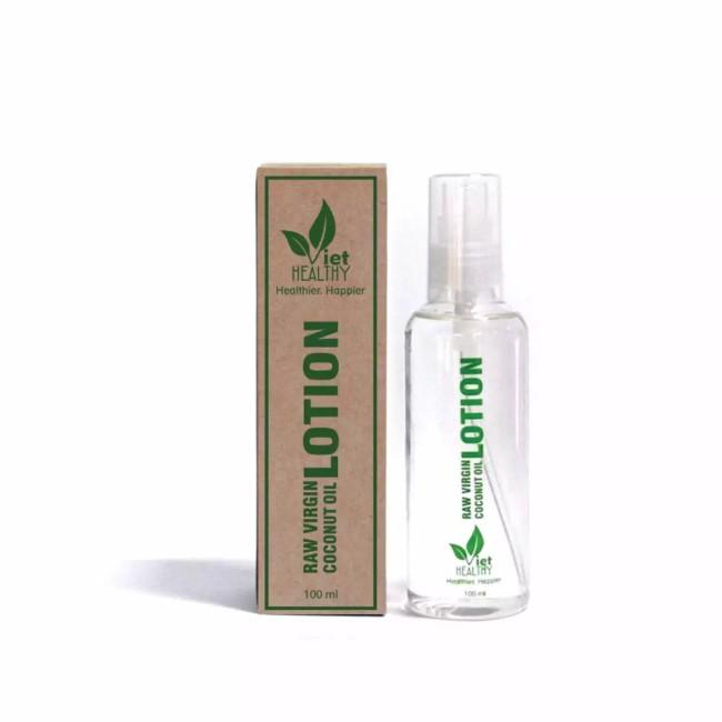 Lotion dưỡng ẩm từ dầu dừa tinh khiết Viet Healthy 100ml