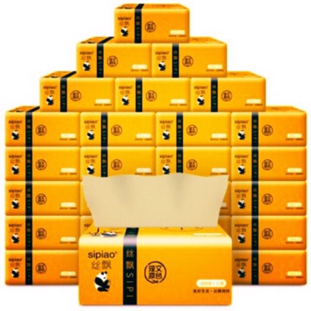 GIẤY ĂN GẤU TRÚC SIPIAO LOẠI 1 ( thùng 30 gói)