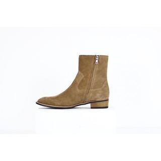 Giày nam Boots Khóa Kéo Streetwear Da Bò Đế Phíp Cao Cấp BẢO HÀNH 12 THÁNG .Tặng Phụ Kiện thumbnail