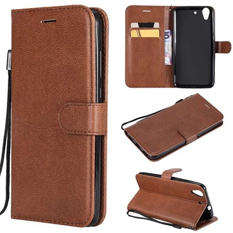 For Huawei Y6II honor 5A Flip Simple Leather Wallet Cell Case