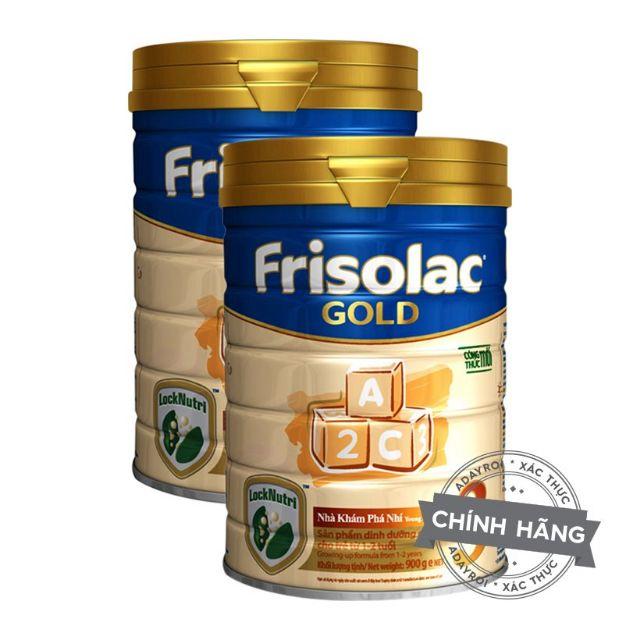 combo 2 SỮA FRISOLAC GOLD SỐ 3 900G 1-3 TUỔI