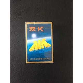 Bài kính áp tròng loại xanh doudK, bài kính áp tròng nhìn xuyên lá bài
