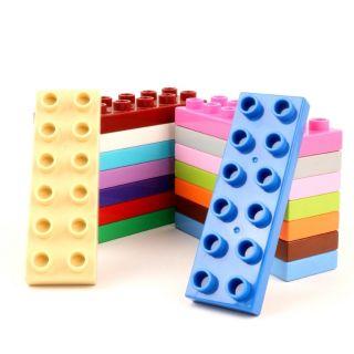 Gorock - set 6 gạch 2x6 lỗ. Tương thích lego duplo thumbnail