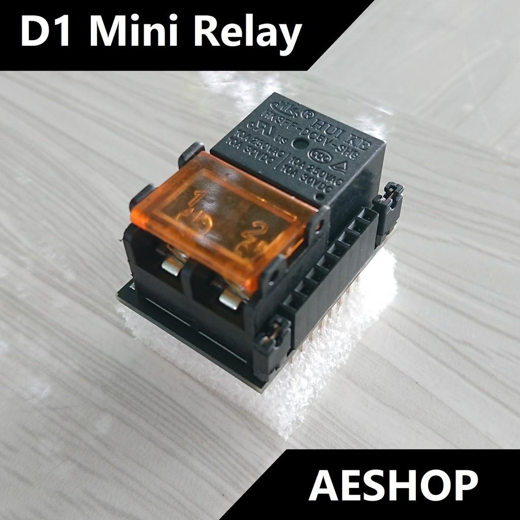 ESP8266 D1 Mini Relay Shield
