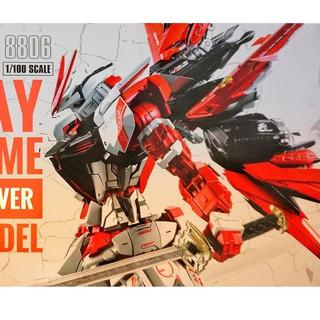 [ FREESHIP - Hàng có sẵn] Mô Hình Lắp Ráp Gundam MG 8806 Astray Red Flight Unit ver MB (Daban) thumbnail