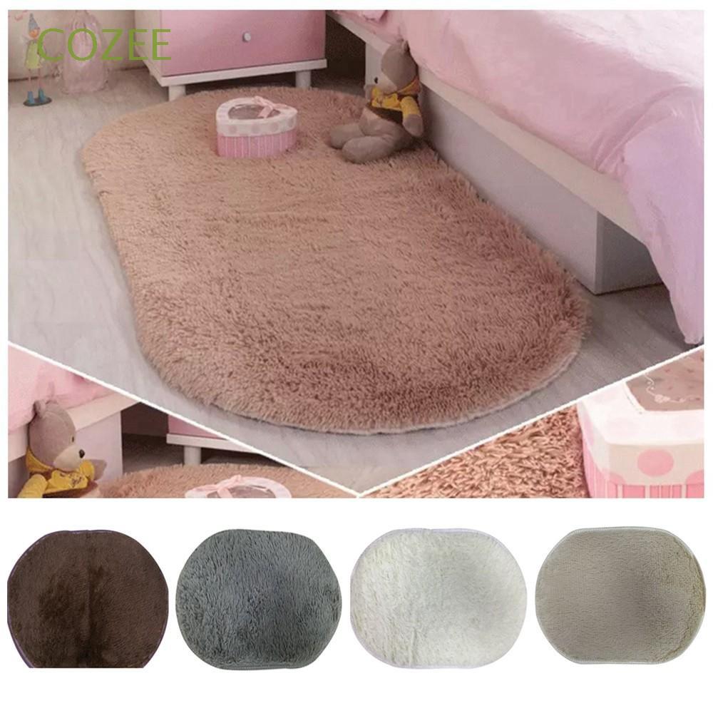 Thảm lông trải sàn chống trượt mềm mại và dễ thương