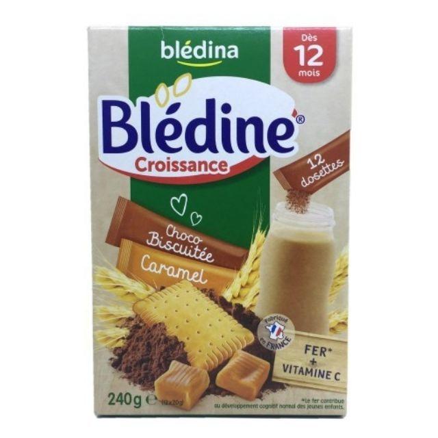 Bột pha sữa Bledina vị bích quy 6m+ 500g