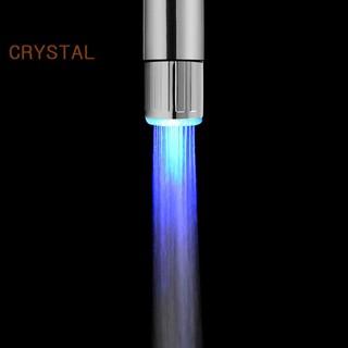 Vòi sen có đèn led 7 màu RGB bằng inox độc đáo