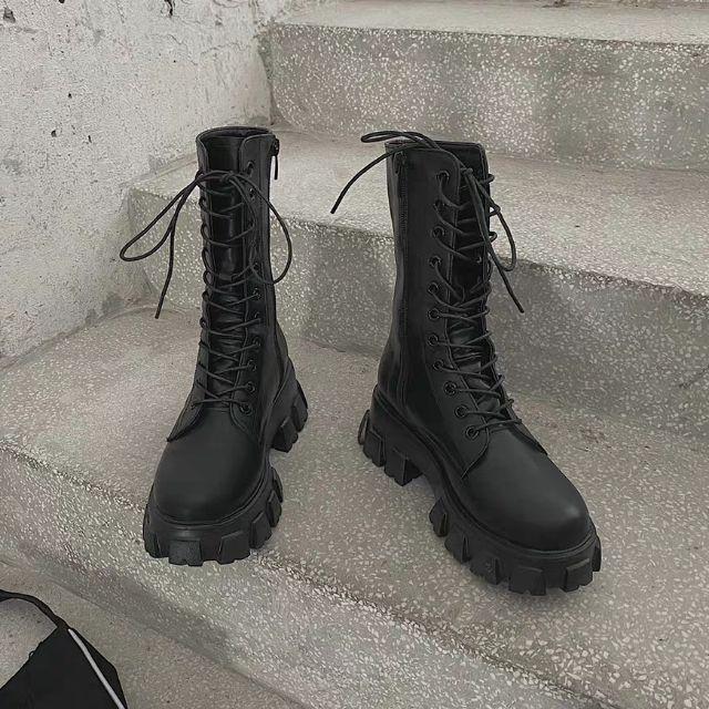 (ORDER) Boots ulzzang B10 đế răng cưa 5.5cm