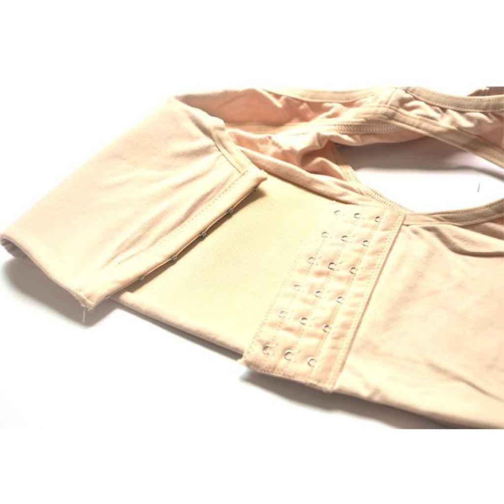 new เสื้อกล้ามทอม เสื้อทอม รุ่นครึ่งตัว ปรับระดับได้ 3 ระดับ - สีเนื้อ Size Mew เสื้อกล้ามทอม เสื้อทอม รุ่นครึ่งตัว ปรับ