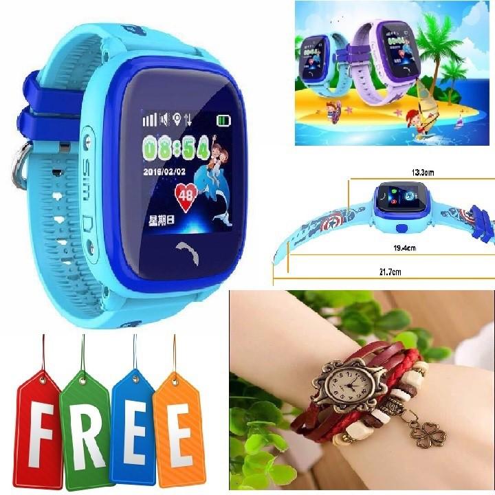 Đồng hồ định vị chống nước DF25G-Tặng đồng hồ thời trang dây da Vintage - 3200831 , 621482031 , 322_621482031 , 1190000 , Dong-ho-dinh-vi-chong-nuoc-DF25G-Tang-dong-ho-thoi-trang-day-da-Vintage-322_621482031 , shopee.vn , Đồng hồ định vị chống nước DF25G-Tặng đồng hồ thời trang dây da Vintage