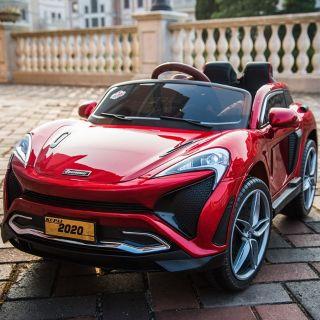 Xe ô tô điện trẻ em 4 động cơ mã Kupai 2020 có micro không dây đi kèm
