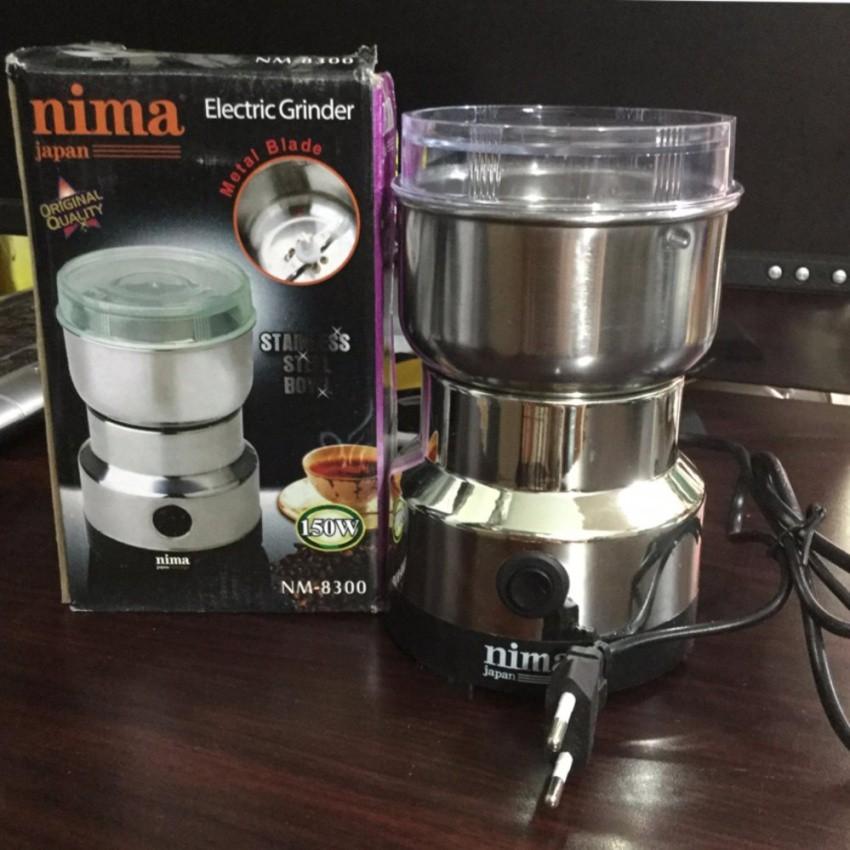 Máy xay tiêu xay cà phê mini đa năng NIMA NM-8300 150W (Bạc) - 2973086 , 436037826 , 322_436037826 , 260000 , May-xay-tieu-xay-ca-phe-mini-da-nang-NIMA-NM-8300-150W-Bac-322_436037826 , shopee.vn , Máy xay tiêu xay cà phê mini đa năng NIMA NM-8300 150W (Bạc)