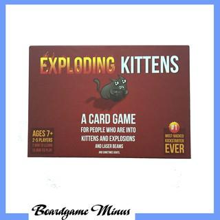 Exploding Kittens – Trò chơi thẻ bài Mèo nổ