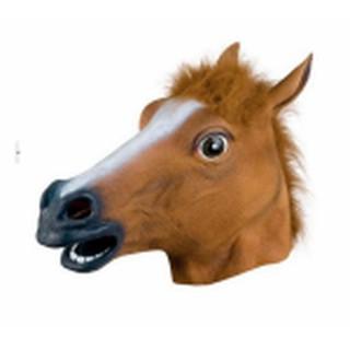Mặt nạ cao su ngựa nâu