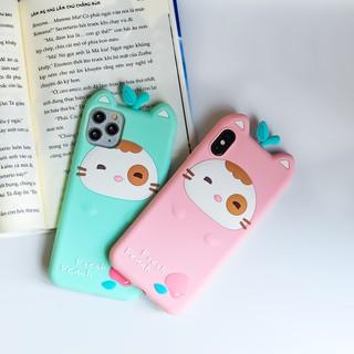 Ốp lưng điện thoại Iphone chính hãng Lofter Fresh Peach 7 8, 7P 8P, X, 11 (tặng kèm móc và dây đeo dài) thumbnail