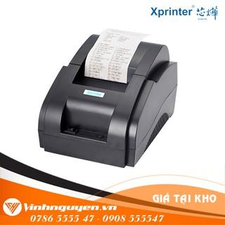 Máy In Bill tính tiền Xprinter 58iih Giá Rẻ Nhất - Tặng kèm 01 Cuộn Giấy