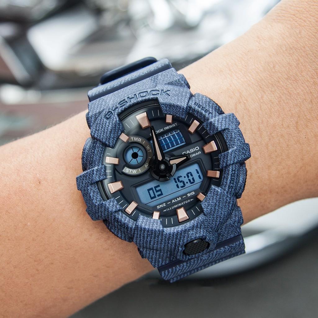 Đồng hồ nam G-SHOCK chính hãng Casio Anh Khuê GA-700DE-2ADR