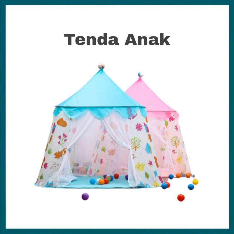 TENDA Lều Đồ Chơi 2 Cửa Vui Nhộn Cho Bé