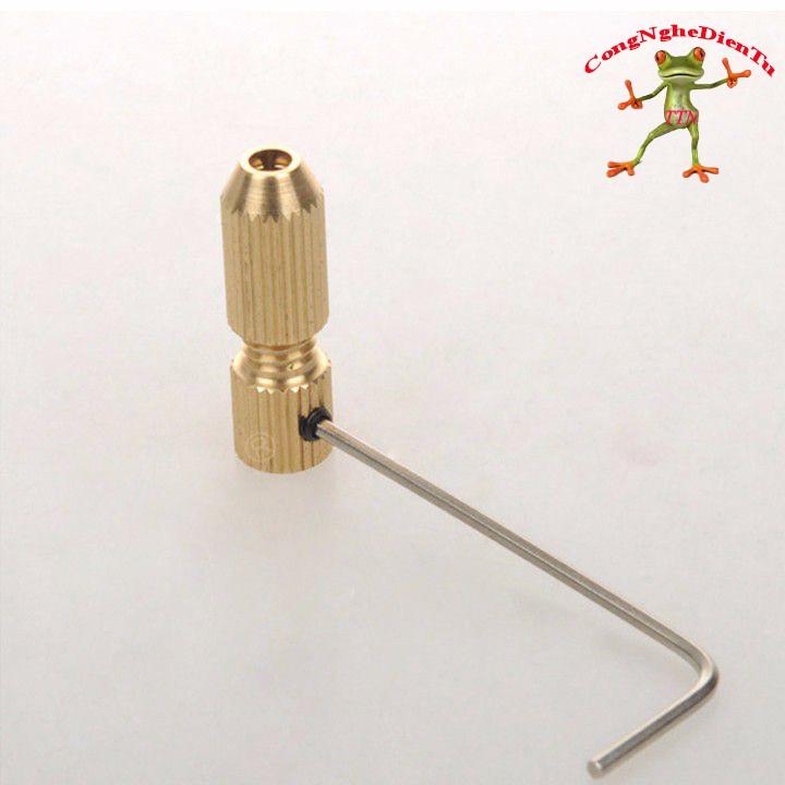 Đầu kẹp mũi khoan 2,5 - 3,2 trục 3.17mm