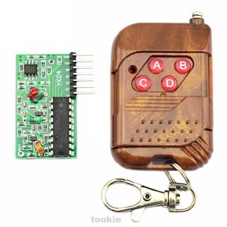 2262 2272 Practical Professional Signal Transmit Module With Decode Receiver Board Four Ways Wireless Remote Control Kit