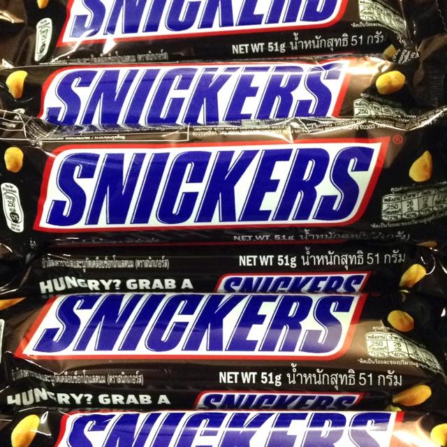 Kẹo socola Snickers 51g - 2473848 , 851836095 , 322_851836095 , 17000 , Keo-socola-Snickers-51g-322_851836095 , shopee.vn , Kẹo socola Snickers 51g
