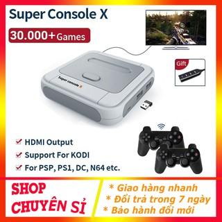 Máy Chơi Game Super Console X Tích Hợp 30000+ Games PSP PS1 N64 Dreamcast... , Máy Chơi Game Cầm Tay thumbnail
