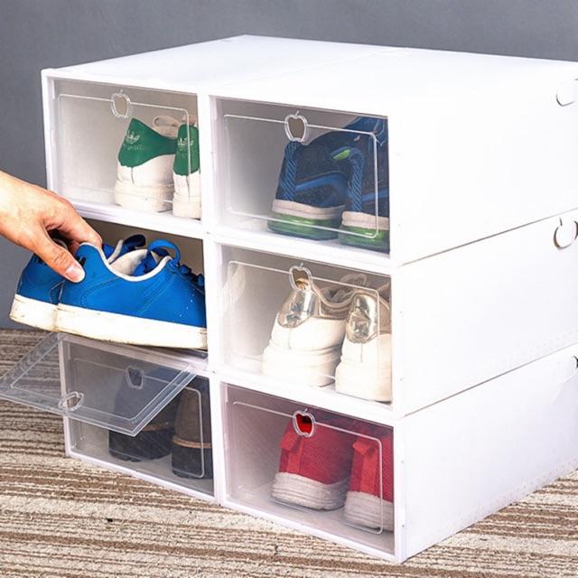 [ XẢ KHO 3 NGÀY ] Hộp Đựng Giày Nhựa MICA Đẹp - Tiện Lợi LOẠI 1 SIÊU CỨNG