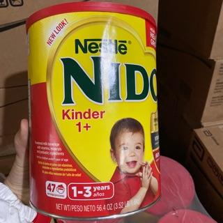 (Date 8.2021) Sữa Nido nắp đỏ Mỹ hộp 1.6kg thumbnail