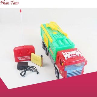 [HÀNG CÓ SẴN] Đồ chơi điều khiển xe cứu hỏa Long Thủy LTH6668G siêu rẻ