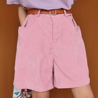 Short pink retro