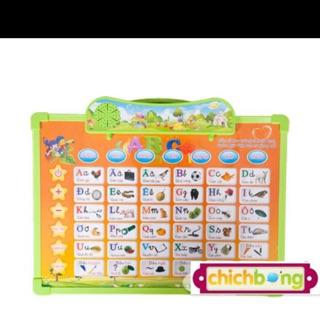 bảng học chữ cái điện tử thông minh 5 in 1