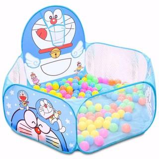 Lều bóng dễ thương kèm 100 quả bóng nhựa cho bé[Giảm giá sốc]