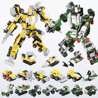 Bộ ghép hình lego cảnh sát máy bay chiến đấu khủng long và công chúa