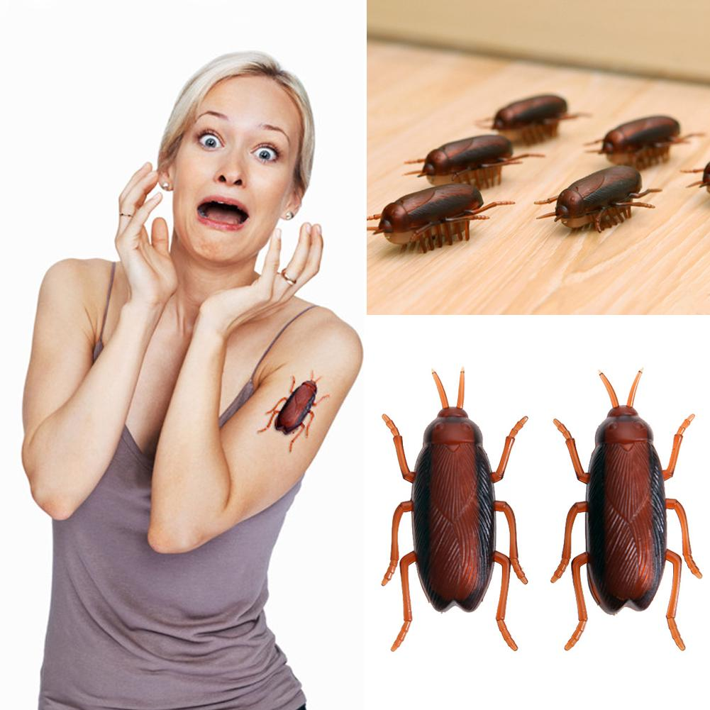 4.5X2X2cm NEW 2019 Electric Cockroach For Cats Fun Electronic Cat Toy