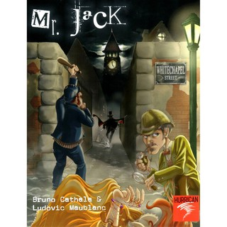 TRÒ CHƠI TRỔ TÀI THÁM TỬ SHERLOCK HOLMES-MR JACK