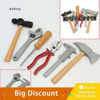 【Ready Stock】Kids Boy Plastic Building Tool Kit Builders Creative DIY Construction Toy Set