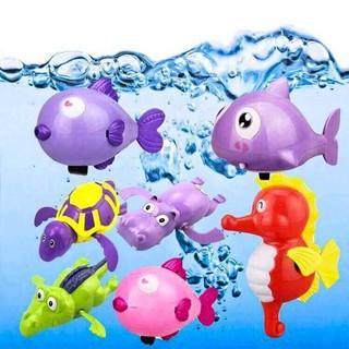✅[TRỢ GIÁ] Thú Bơi Trong Nước Thông Minh Cho Bé Có Vặn Cót Để Chạy Loại To