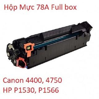 Hộp Mực 78A (full box) dùng cho máy in Canon 4400, 4750,… HP P1530, P1566,…