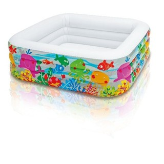 Bể bơi vuông cá 3 tầng 159x159x50 Intex 57471